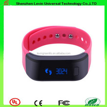 High Quality Hand Free SMS Incomming Phone Call Smart LED Bluetooth Bracelet For Phone