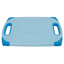 antibacterial non slip plastic cut and carve chopping board