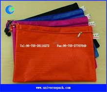 Waterproof nylon documents pouch for promotions
