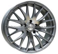 2015 New style 18 inch replica ADV alloy rims flat black made in china car rims