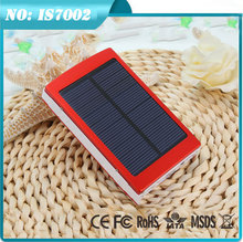 2015 wholesale 15000mah waterproof solar cellphone charger power bank