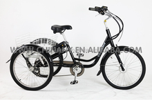 GW 7015E 36V/ 250W electric cargo tricycle for adult shopping