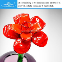 wholesale best selling handmade glass items art and craft flower decoration supplies