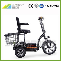 2015 Popular three wheel electric bike, electric bike 3 wheel for adults