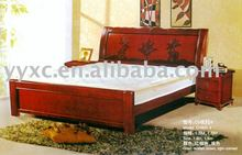 alibaba express solid wooden beds