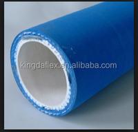 Large Diameter Blue Color Food Grade Rubber Hose 10 Inch
