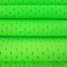 100% polyester mesh fabric/sport mesh fabric for t-shirt and football wear