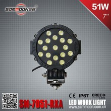Newest 6 inch E-mark LED Head Light Driving Lamp_SM-7051-RXA for Auto off road vehicle, truck, feller, 4x4, buses, Marine