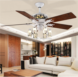 52 inch Home, Hotel, Tourism Place Type Decorative Ceiling Fan lighting