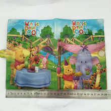 PVC Book Cover ,Plastic Cartoon Book Protective Cover for kids