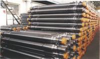 Railway forged steel axle