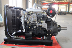 High Quality 24kw/30kva Water Cooled Diesel Engine With Isuzu technology
