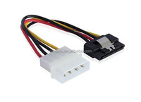 straight SATA Power Cable with latch