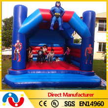 Good quality frozen kids inflatable bounce with slide jumping house bouncy bounce