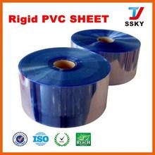 Rigid clear plastic PVC sheet pvc paper laminating sheet