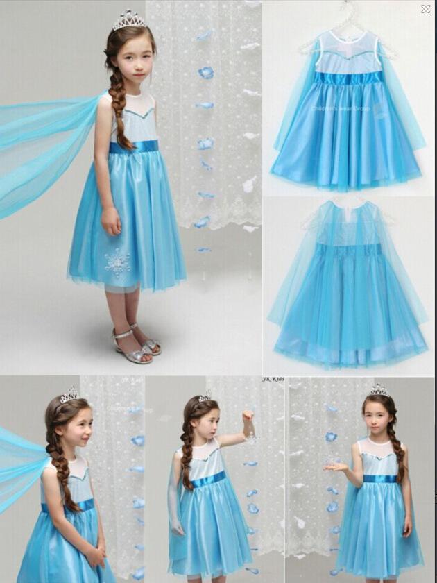 Elsa Flower Girl Dress