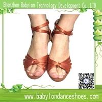 2015 special design skin Low heel dance shoes
