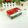 High quality Christmas gift hinged small metal rectangular tin box