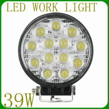 39w Led Spot Worklight Off-road 4x4 Driving Lanps For Truck Suv Jeep 39w