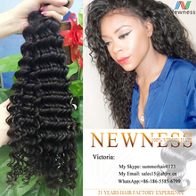 100% human unprocessed Virgin brazilian remy brazillian deep curly virgin hair