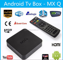 Android TV Box MXQ Amlogic Quad Core TV Box 4.4 Android TV Box Amlogic S805 MXQ Android Media Player XBMC Quad Core MXQ
