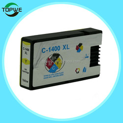 Factory price ! Compatible ink cartridge for Canon PGI-1400 BK/C/M/Y for Canon MAXIFY MB2040/MB2340 printer