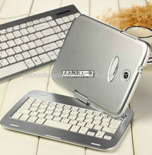 For Ebay Amazon Stock Colorful Wireless bluetooth Keyboard For Samsung Galaxy Note 8.0 N5100 case Gray
