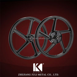 high quality black alloy wheel motorcycle