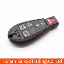 Good quality car remote smart key with 5+1 button auto remote smart key for Dodge Chrysler