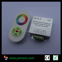 RF wireless touching RGB LED controller dimmer for LED strip