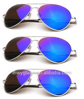 2014 most popular cheap custom made aviator sunglasses model with UV 400 protection RB3025,RB3026
