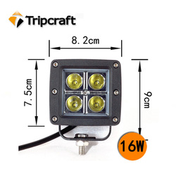 HOT!16w LED WORK LAMP Led working light ,offroad led lighting military vehicles for sale