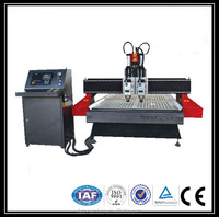 HOT HOT HOT !!! low price and high quality 1325 new 3d woodwork cnc engraver two heads machine