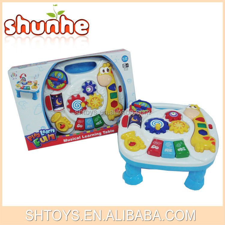 Unique Educational Toys : Unique educational toys kids musical stady table for baby