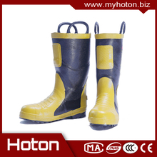 Multifunctional Fireman Firefighting Shoes made in China