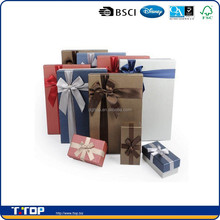 FSC certificated custom gift boxes small quantity