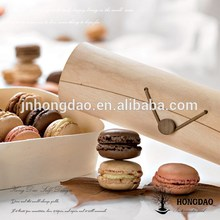 Order! Balsa wooden very thin macarons box,free wooden gift box sample,wooden candy box