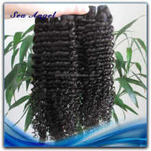 Soft and Clean Unprocessed Afro Jerry Curl Hair Weave