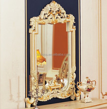 Luxury Brand New Bedroom Furniture/Golden Design Marquetry Inlay Dressing Table/Dresser
