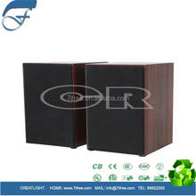 new simple style 2.0 multimedia speaker for pc shenzhen factory wholesale good price
