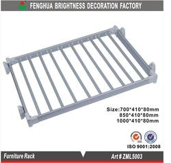 cabinet drying rack/wardrobe accessories/aluminum clothes hanger