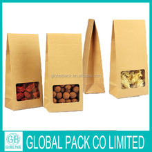 Cheap Price Manufacture Brown Paper Bags For Food Packaging