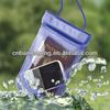 2014 PVC Waterproof plastic bag for iphone and camera,swimming