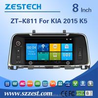 2015 car audio fitting frames for Kia K5 dashboard with gps navigation stereo radio entertainment