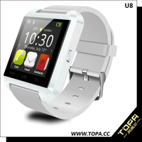 2015 dual core touch screen waterproof talking watch for ios phone