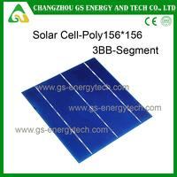 Best price Hot sale 6inch Multi-crystalline raw solar cells