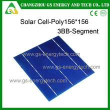 Best price Hot sale 6inch Multi-crystalline raw solar cells
