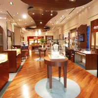high quality glass display Jewelry Showcase for Store