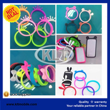 Silicone Universal Luminous Wristbands Design Bumper Cases 10 colors