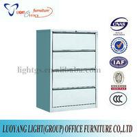 Wide 4 Drawer Steel Filing Cabinet
